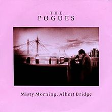 Misty Morning, Albert Bridge